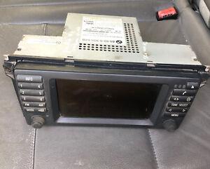 BMW E38 E39 E53 Widescreen Sat Nav Screen GPS Monitor M5, Removed From X5 16:9