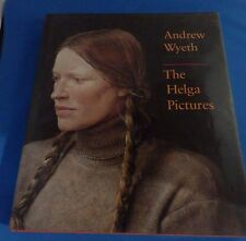 THE HELGA PICTURES BY ANDREW WYETH DAMAGE TO PAPER ON BACK BINDING