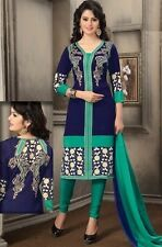 Elegant Crepe Designer Printed Unstitched Dress Material Suit D.No D5003