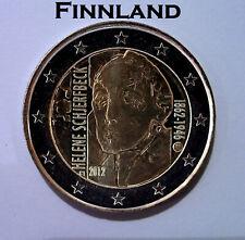 """2 Euro Gedenkmünze Finnland 2012 """"150. Geburtstag von Helene Schjerfbeck"""""""