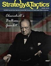 Strategy & Tactics #298, 5/6 2016: Churchill's Balkan Gambit - New, English