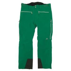 J Lindeberg Men's M Crosson P Dermizax EV Stretch Ski Pants - GREEN