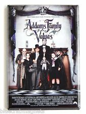 Addams Family Values FRIDGE MAGNET (2 x 3 inches) movie poster raul julia