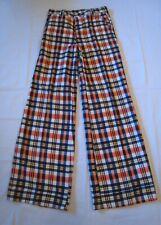 New listing Vintage 1960's-70's Men's Plaid Bell Bottom Pants Nos Unworn 32 x 34