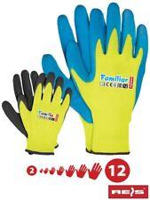 6 Paar Kinder Arbeitshandschuhe Kinderhandschuhe Handschuhe Gr. 2 - 7 Latex