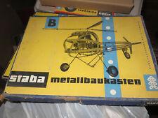 staba metallbaukasten , ddr, modellbau, wie elektrobaukasten, original veb