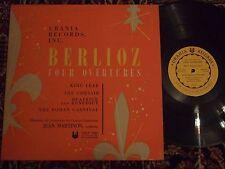 JEAN MARTINON berlioz four overtures URLP 7048 Urania