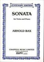 First Sonata for Violin and Piano by Arnold Bax (Sheet Music Book)