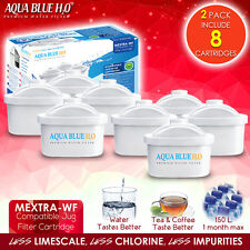8 Pack MEXTRA Replaces Brita Maxtra Water Filter Cartridges