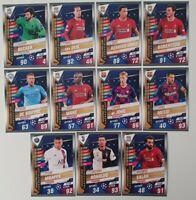 2020 Match Attax 101 Soccer Cards - Team of the Season full set - Ronaldo Messi