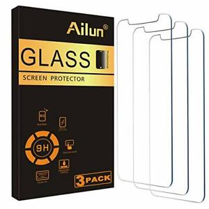 Ailun Glass Screen Protector for iPhone 12/iPhone 12 Pro 2020 6.1 Inch 3 Pack