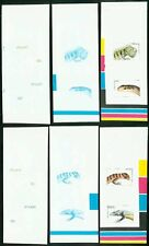 St. Lucia 1984 Reptiles COMPOSITE MASTER PROOF SHEETS