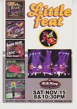 Little Feat Tower of Power promo postcard 2003 shows Nyc