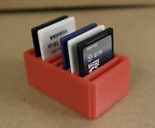 SD Memory Card Desk Tidy Storage Box