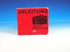 Leica r3 & r3-mot manuale d'uso tedesco German manual - (101299)
