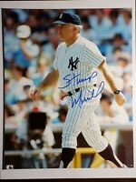 Signed Stump Merrill Auto Autograph 8X10 Photo Yankees Manager