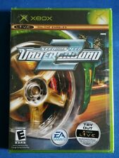 Original XBOX Need for Speed Underground 2 Brand New Factory Sealed- Authentic!!