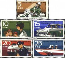 DDR 1579-1583 (kompl.Ausgabe) postfrisch 1970 Volkspolizei EUR 4