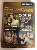 TCM Greatest Classic Legends Films Collection: Judy Garland 4 DVD Set NEW