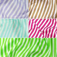 100% Cotton Poplin Fabric Rose & Hubble 8mm Candy Stripes