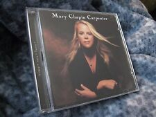 """MARY CHAPIN CARPENTER CD """"TIME-SEX-LOVE"""" 2001 SONY"""