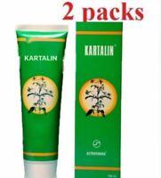 "2 packs-200ml (6.7 FL oz) natural cream ""Kartalin"" in case of psoriasis, eczema"