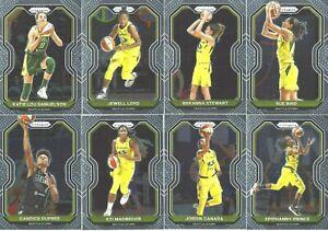 2021 WNBA PANINI PRIZM * SEATTLE STORM 8 CARD TEAM SUBSET * BIRD * STEWART * ++