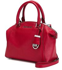 Michael Kors Tasche/Bag Riley SM Satchel Bowling-Bag Leather Chili NEU!