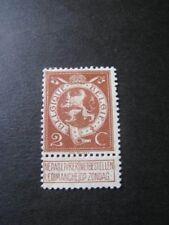 Belgique timbre ancien vendu à 20%.COB 109*