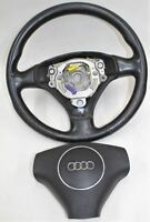 AUDI Replacement Leather 3 Spoke Steering Wheel For A3 8P 2004-2008