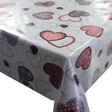 Wachstuch Wachstischdecke Tischdecke Rote Herzen Halat Größe wählbar