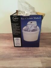 Crofton IceCream Maker 1 Qt Capacity Ice Cream Sorbert Frozen Yogurt 6139-12 NEW