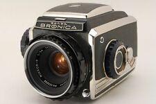 [Exc++++] Zenza Bronica Model C + Nikkor-P 75mm f2.8 From Japan #1345009