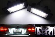 License Plate Light LED No Error For BMW E81 82 E90 92 E39 E60 E63 E70 E71 E85 M