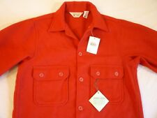 BOY SCOUTS WOOLRICH Shirt Jacket 40L New With Tags Old Stock Made In USA