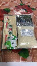 Halal Sushi / Kimbap set (Sushi rice + Roasted seaweed + Wasabi paste + Bamboo)