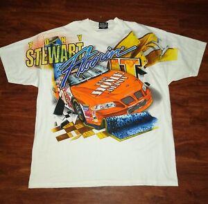 NEW RARE Vintage 2000 CHASE AUTHENTICS NASCAR Tony Stewart Shirt UNUSED Men's XL