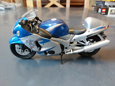 Newray Hayabusa GSX 1300R Model Motorcycle Scale Unboxed