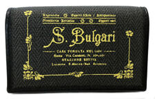 Authentic BVLGARI key case Corezzone PVC canvas gray 32436 yellow