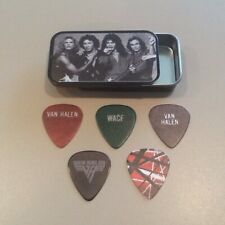 Van Halen Guitar Pick Tin with (5) Assorted Guitar Picks!!!