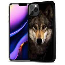 ( For iPhone 11 ) Back Case Cover AJ12107 Wolf