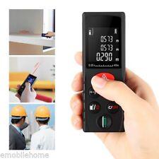 40m Digital Laser Distance Meter Range Finder Measure Tool Portable Diastimeter