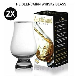 2X NEW THE GLENCAIRN WHISKY GLASS Whiskey Crystal Scotland Scotch Malt Glasses