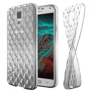 Handy Schutzhülle für Samsung Galaxy S5 Luxus TPU Hülle Glitzer Diamant Cover