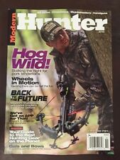 Modern Hunter Hog Wild Muzzleloader Hunting Gear Guide Annual 2015 FREE SHIPPING
