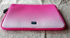 GETCOMMON Neoprene Sleeve Cover Case for Tablet/Device fits 12 x 8-1/2 Hot Pink