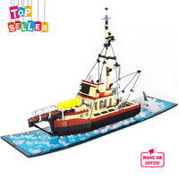 Building Toys Sets The Orca Boat Quint's Boat from Film Jaws MOC-38659 for Kids