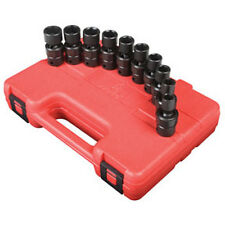 "Sunex Tools 3/8"" Drive 10 Piece Metric Universal Impact Socket Set - 3657"