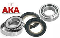 Steering head bearings & seals for Honda CG125 1977-03
