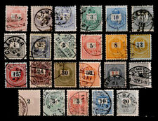 HUNGARY: 19TH CENTURY CLASSIC ERA STAMP COLLECTION